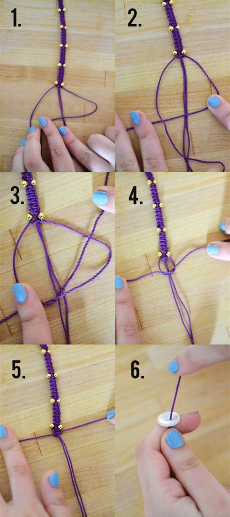 Hemp Braiding Designs - the 25 best hemp bracelet patterns ideas on