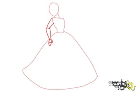How To Draw Disney Princesses Drawingnow How To Draw A Disney Princess Dress Free Coloring Sheets