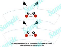 Pikachu Cake Template by Pikachu Roll Cake Template Baking Templates
