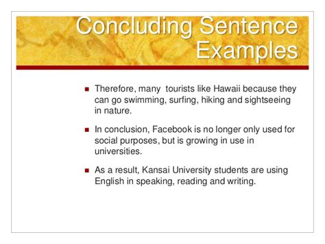 Essay Writing Conclusion Exle by How To Conclude An Essay Exle Excel Homework