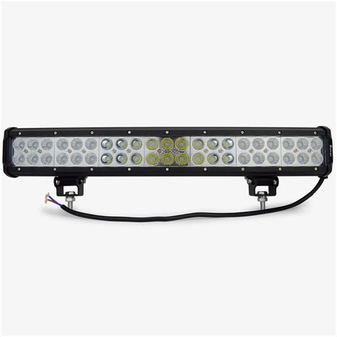 led lights for bar 20 inch 126w cree led light bar led work light bar for