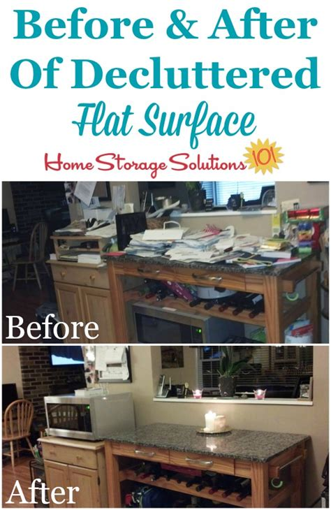home storage solutions 101 how to declutter a flat surface and keep it that way