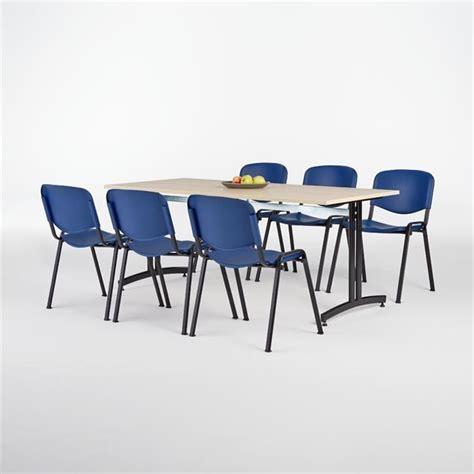 Deal Table by Canteen Package Deal Table 6 Chairs Aj Products