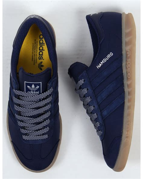 Adidas Hamburg Ori adidas hamburg tech trainers blue gum adidas trainers from 80s casual classics uk