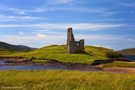 ardvreck castle scotland dave derbis photography
