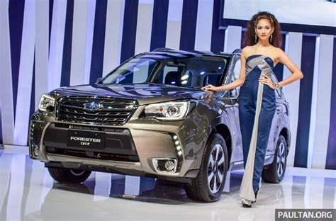 subaru malaysia 2017 2016 subaru forester to launch in malaysia on april 14