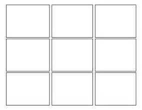 Square Template by 3rd Grade Second Batch Of Comic Templates