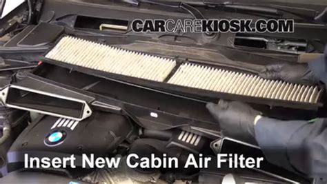 Bmw Cabin Air Filter by Cabin Filter Replacement Bmw 128i 2008 2014 2011 Bmw