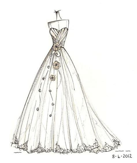 brautkleider zeichnungen wedding dress sketch wedding dress sketches