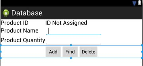 layout android z index an android tablelayout and tablerow tutorial techotopia