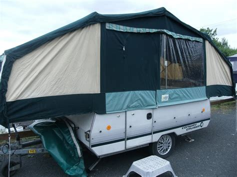 conway cruiser awning 1990 conway cruiser used folding cer