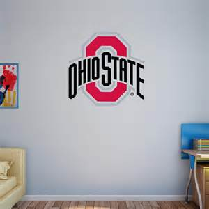 Ohio State Wall Murals the ohio state buckeyes fathead 174 wall decals cut outs and outdoor