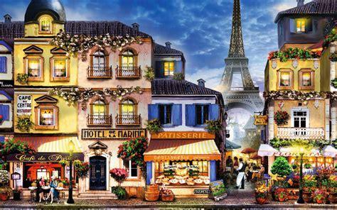 Bilder Häusern by Die 80 Besten Eiffelturm Wallpapers