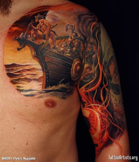 7 beautiful norse tribal tattoos tribal viking tattoos viking tattoos designs and idea