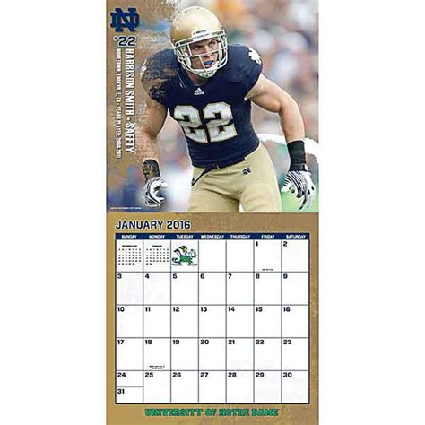 gifts for notre dame fans 2016 notre dame calendar gifts ideas notre dame fan store