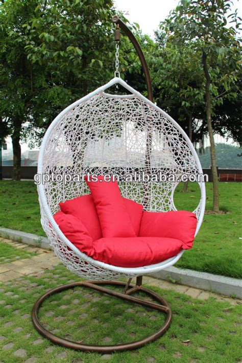 wholesale wholesale egg chaped swing hammock chair swing outdoor furniture rattan furniture rattan chair the wicker