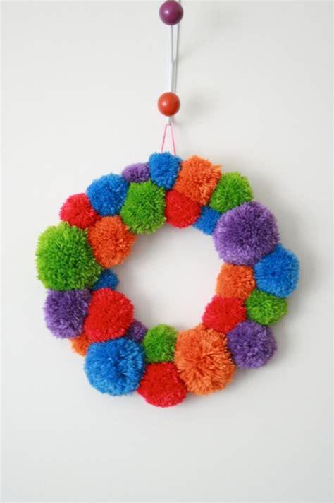 pom pom wreath  poppet