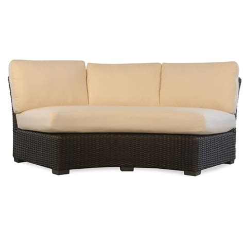 rattan curved sofa curved rattan sofa lake george outdoor wicker curved sofa