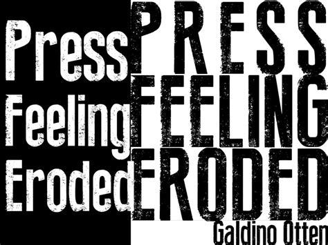 dafont eroded press feeling eroded font 183 1001 fonts
