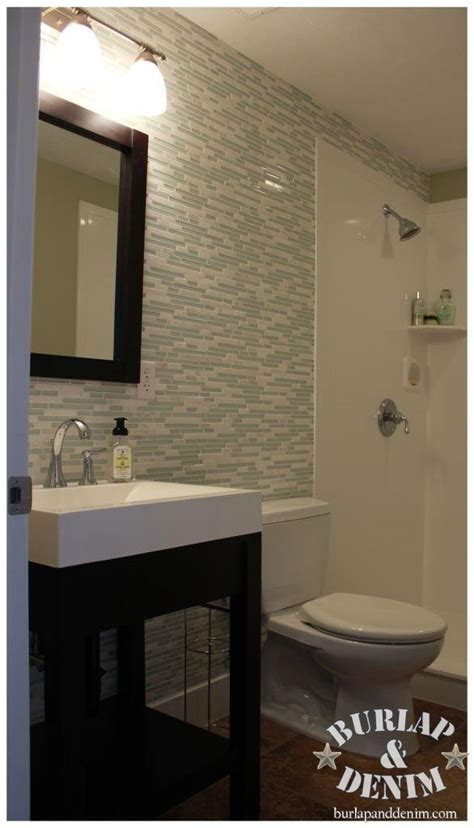 bathroom tile accent wall take it up a notch with glass and marble tile mosaic