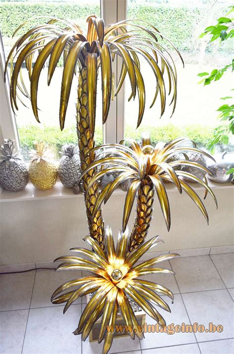 palm tree floor light maison jansen palm tree floor light vintage info all