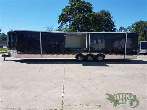 concession trailer awnings pearson special 8 5x34 tta3 trailer black