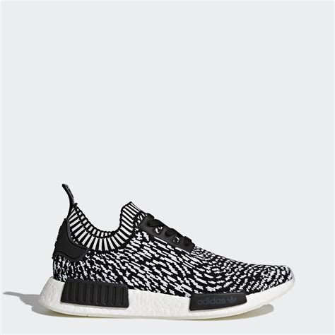 black and white patterned adidas trainers adidas nmd r1 primeknit shoes black adidas uk
