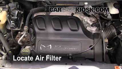 air filter how to 2000 2006 mazda mpv 2006 mazda mpv lx 3 0l v6