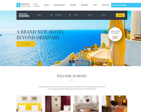 20 best html responsive booking templates 2016 designmaz