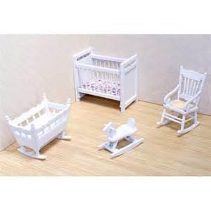 melissa doug victorian dollhouse nursery furniture set wooden dollhouse