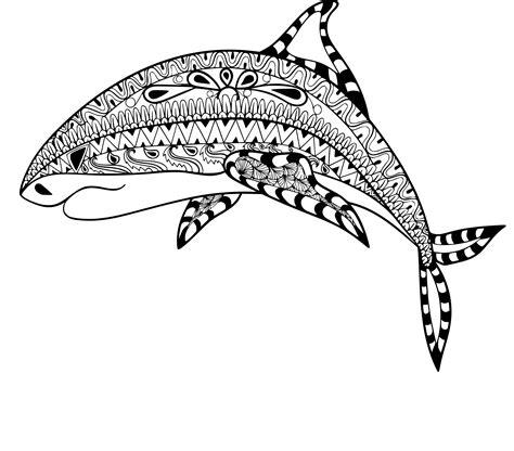 Coloriage Anti Stress Requin 224 Imprimer Sur Coloriages Info Dessin Requin Imprimer L