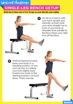 single leg bench squat barbell front squat with heels elevated healthy living