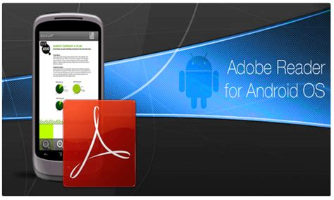 free adobe reader for mobile free pdf reader apps for android phone
