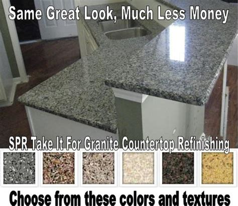 Spray Granite Countertops by Spr Countertop Refinishing Countertop Refinishing