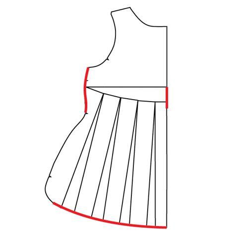 dress pattern tracing paper pattern hack change a regular t shirt into a swing shirt