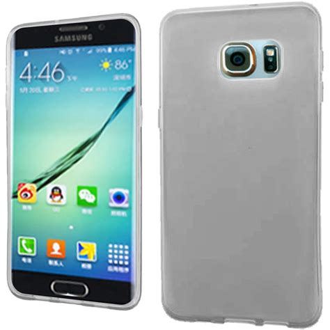 Samsung Galaxy S6 Edge Plus Mm Chocolate Rubber Soft Tpu 3d frosted tpu rubber skin cover for samsung galaxy s6 edge plus clear ebay