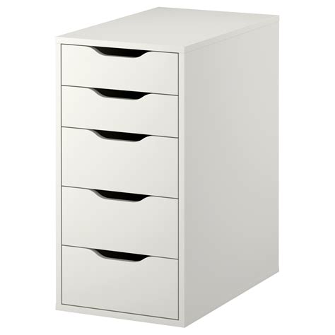 alex drawer unit white 36x70 cm ikea