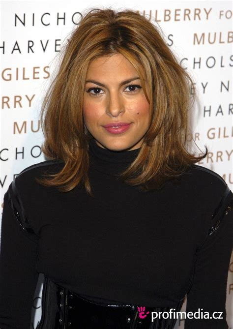 eva mendes short ombre hair hair makeup inspiration