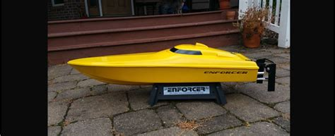 offshore rc gas boats enforcer rc boats