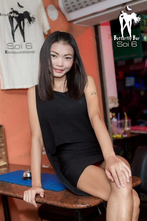 Pataya Dress butterfly bar soi 6 pattaya black dress