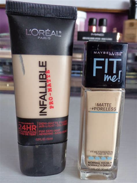 L Oreal Infallible Matte Foundation l oreal cosmetics infallible pro matte foundation