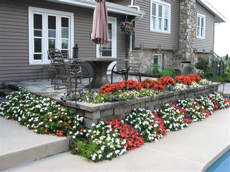 garden decoration flowers flower garden decoration creates cheerful exterior home