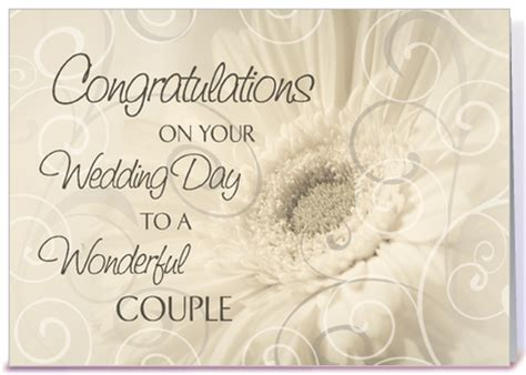 congratulations on ur wedding day wedding day congratulations white swirls greeting card by