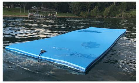 Foam Floating Mat by Floatdaddy 3 Ply Island Floating Foam Swim Mat