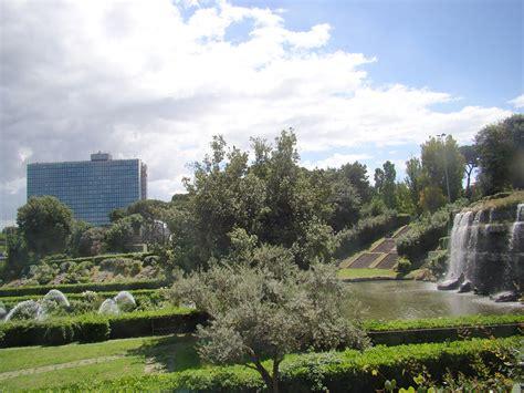 giardino delle inaugurazione giardino delle cascate eur s p a