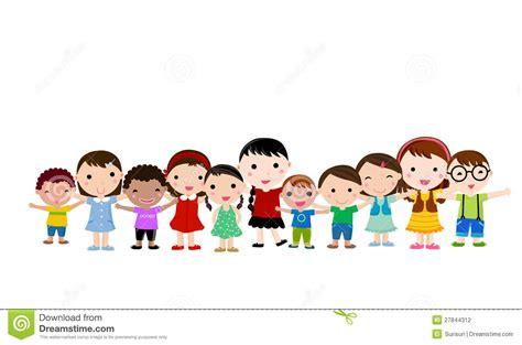 imagenes niños jugando en grupo grupo de ni 241 os felices fotograf 237 a de archivo imagen