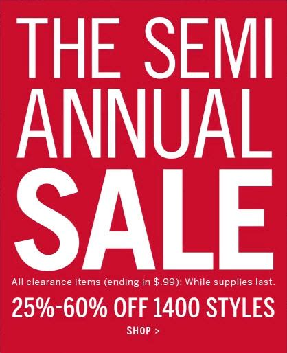 Sale Alert Victorias Secret Semi Annual Sale by S Secret Semi Annual Sale Has Begun