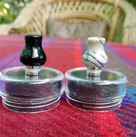 Driptip Drip Tip Mini Marble jade marble drip tip cloud 9 vaping co pakistan