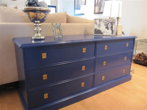 navy blue gold sofa table caign style dresser houston furniture refinishing lindauer designs