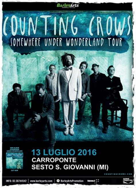 counting testo counting crows carroponte